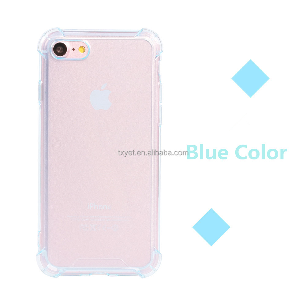 2016 best selling new design mobile phone tpu case soft clear universal tpu silicione case for iphone7 7 plus