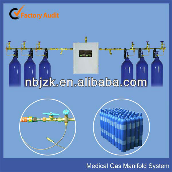 Medical Central Gases Equipment supply for oxygen and nitrous oxide
