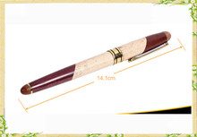 High quanlity Maple&rosewood wood ball point pen