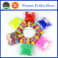 In stock high quality crazy loom bands wholesale rubber bands factory price crazy rubber band