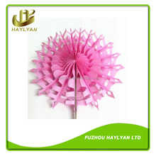 Top quality!!! Round paper fan party items