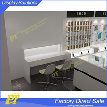 Mobile phone wall display cabinet and display counter