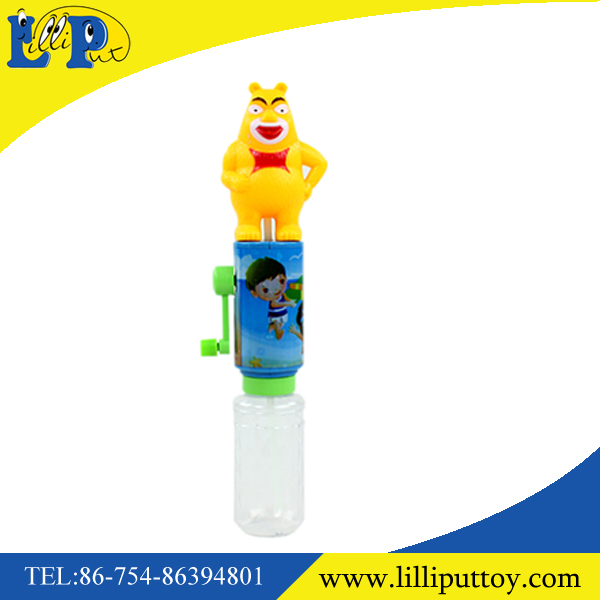 Interesting candy toy cartoon water gun toy