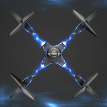 2018 Detachable LED 360 Degree Tumbling RC Drone With Wifi FPV Camera HD Pixels