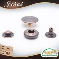 Manufacturer China Jacket Fastener Factory Snap Metal Buttons