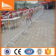 galvanized pipe welded cheap crowd control stanchions(2*1m popular size)