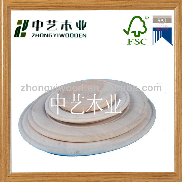 Wooden dish and dish set wooden