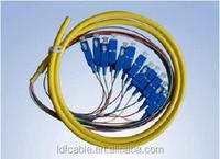 WATERPROOF 6 CORE SINGLE MODE FIBER OPTIC CABLE