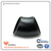 short radius aluminum pipe elbow