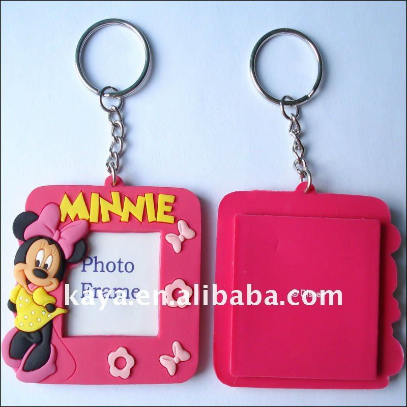 Beautiful gifts keychain wtih mini photo frame