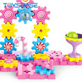 Assembly Gear Game Plastic Brick Toy Large Building Blocks