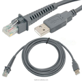 RJ45 USB Cable for symbol barcode scanner cable
