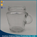 150ml milk drink glass jar bottle with handle