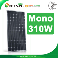 Bluesun roof mounting 310W Mono Panels Solar Sunpower Module Kit