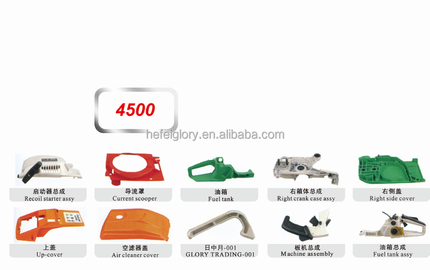 4500 5200 5800 chinese cheap gasoline portable pocket chainsaw for sale