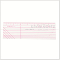 Kearing hot sale garment ruler acrylic material for fashion designing#kpr5150