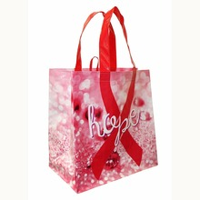 China manufacturer laminated plastic bag,bopp laminated pp woven shopping bag
