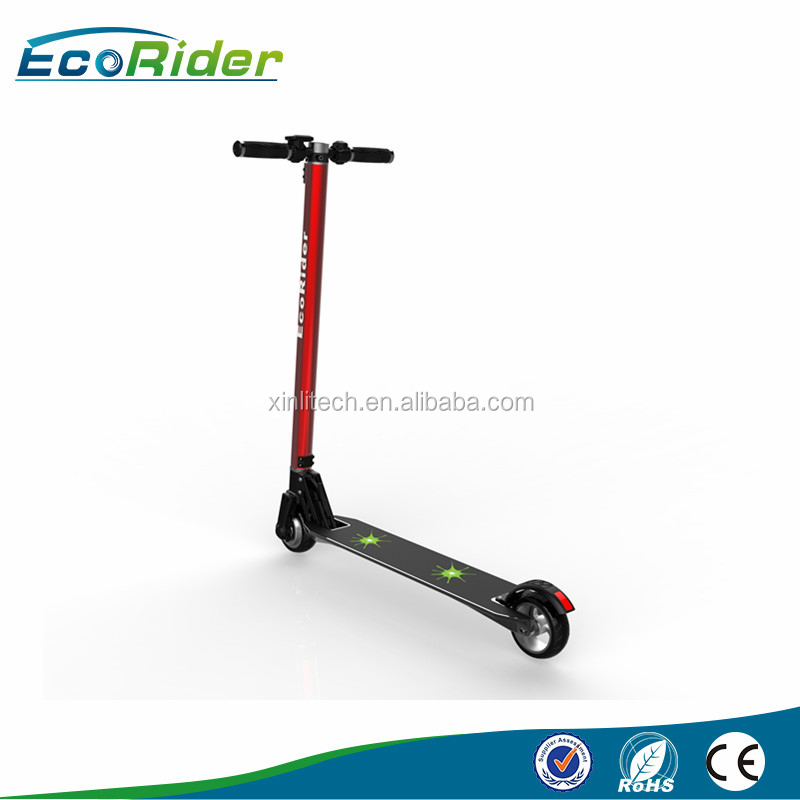 Rechargeable Battery Powered Smart Standing Micro Folding Electric Scooter