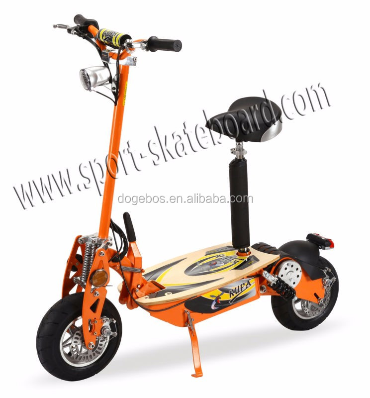 10inch 1000W lead-acid battery evo two wheel electric scooter/folding e-scooter/foldable electric skateboard