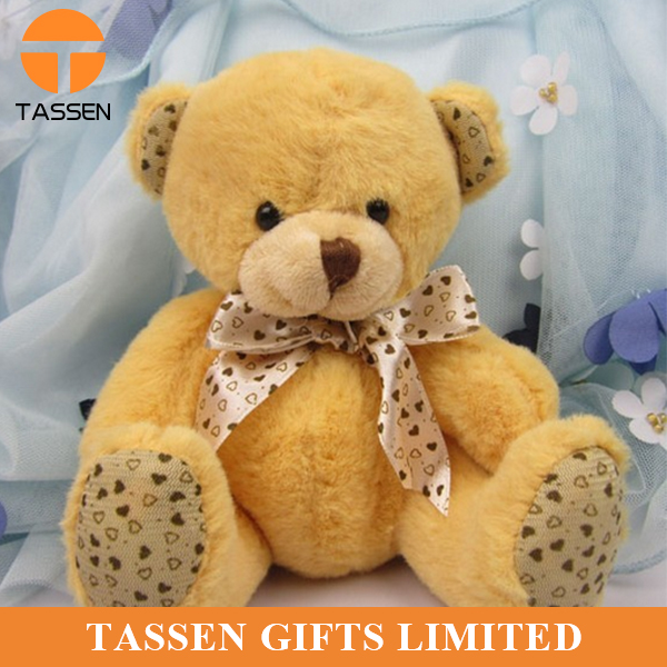 factory sale cheap teddy bear OEM stuffed animal toy PP cotton filled teddy bear