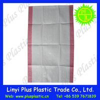 Factory supply poly propylene woven packaging colorful 10kg rice bags for sale