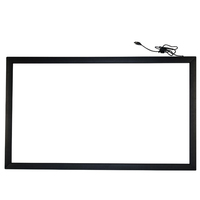 Lcd touch panel infrared aluminum frame