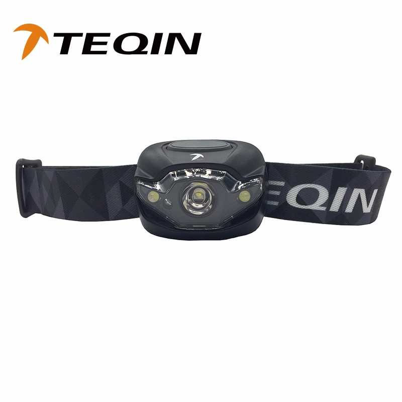 Cheap White and Red Light ABS Head Lamp 3Led Headlamp By 3AAA Battery