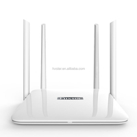 Network WIFI Router 1200Mbps dual band 2.4GHZ and 5GHZ strong signal firmwall Gigabit wireless wifi router repeater