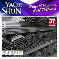 0.7mm steel galvanized pipe for greenhouse