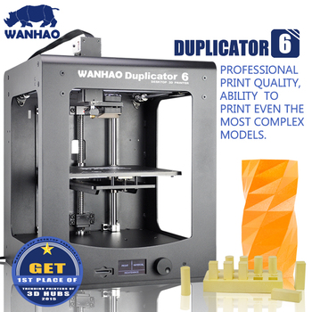 2016 WANHAO 3d printer new version Duplictor 6 model, mental frame, high quality 3d printer