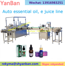 10ml 30ml 60ml Automatic essential oil filling machine glass bottle filling and capping machine for essential oil e liquid