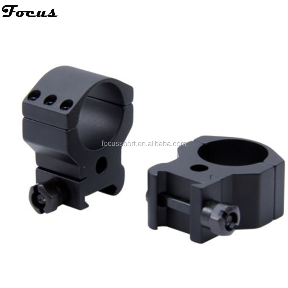 One Paire Heavey Duty 30mm Laser Sight Mount Fit For 20mm Rail Rifle 6 Bolts High Profile