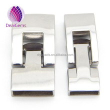 New design 10X3mm Jewelry Findings 316L stainless steel clasps for bracelet
