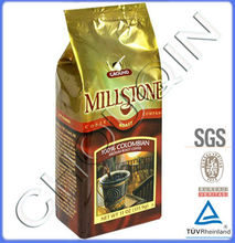 Foil bags packing coffee in indonesia