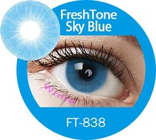 FreshTone super naturals cosmetic contact lenses