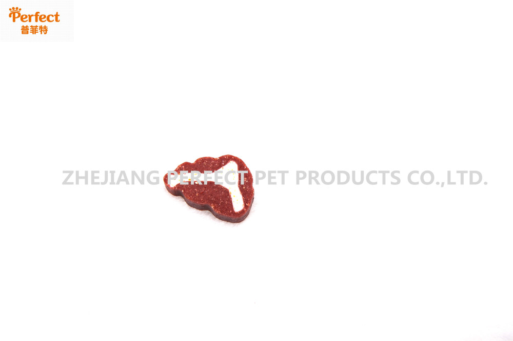 dog food two-tone shaped T-STEAK mini bone