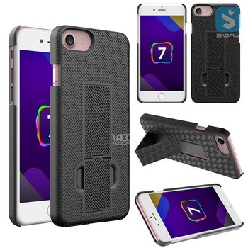 Shell Holster Combo Case for iPhone 7; Super Slim Shell case for iPhone 7