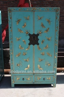 Chinese antique butterfly cabinet bedroom