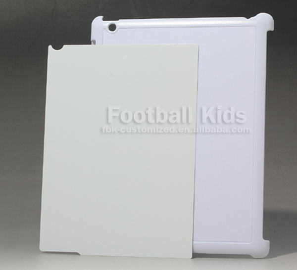 Wholesale blank raw plastic case for ipad 4, low price China mobile phone case