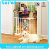 Wholesale Lockable Safe Flap Pet Door for dogs pet retractable gate