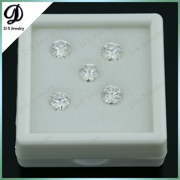 Round Moissanite Loose / Synthetic Moissanite / White Moissanite Diamond