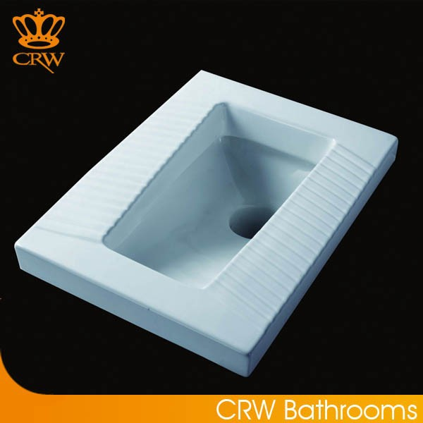 CRW HTC3780 New Products Wash-Down Squatting Pan