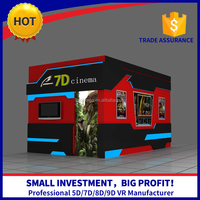 9d Cinema Indoor Playground Equipment 3D Glasses 6/9/12 Seats Motion 7D Cinema Film/Movies Cinema Cabin