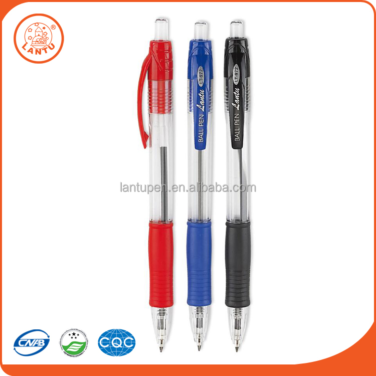Lantu Top Wholesale Custom Size Durable Simple Style Design Office Stationery Ballpoint Pens