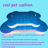 Huge bone shape cooling gel memory foam pet cushion bed