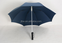 customized handle led flashing umbrella with torch light