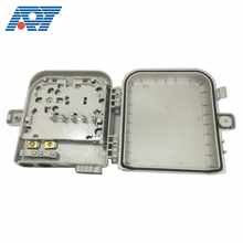 Fiber equipment 8 port drop cable optic terminal box outdoor wall mounted FTTH fiber distribution box