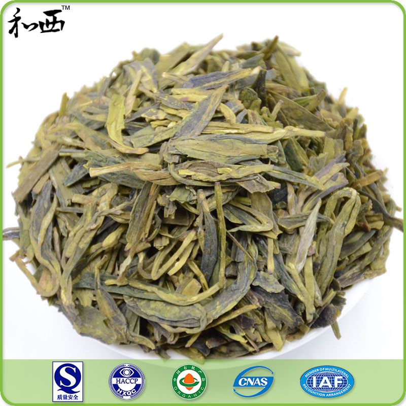 High Grade Longjin West Lake Dragon Well Green Tea Leaves