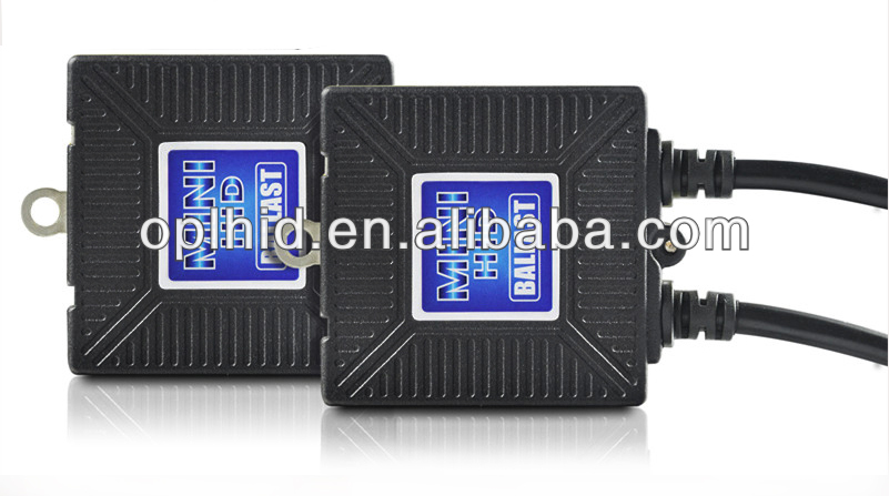 HID xenon Mini slim auto and motorcycles ballast 12V/35W high quality OEM newest deisgn Canbus Quick start