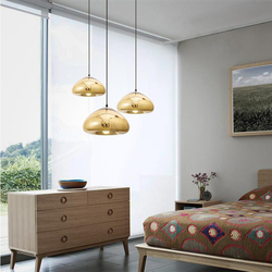 Modern top quality hotel lobby hanging lighting glass balls chandelier